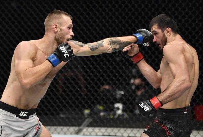 UFC on ESPN 28: Niklas Stolze vs. Jared Gooden Picks and Predictions
