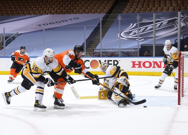 Pittsburgh Penguins at Philadelphia Flyers - 1/13/21 NHL Picks and Prediction