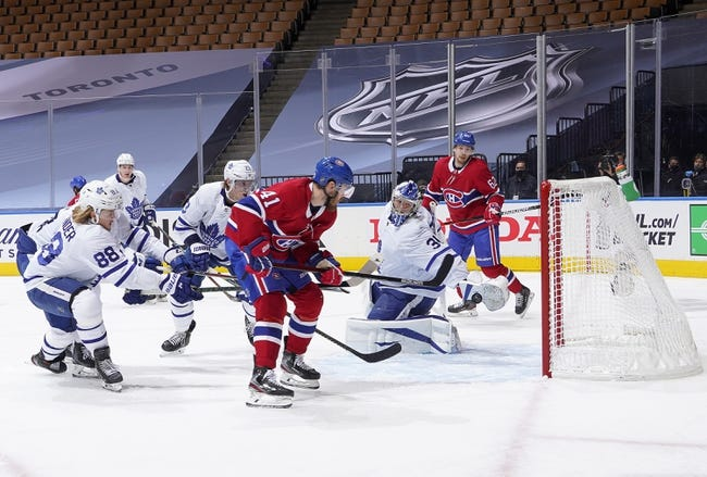 Toronto Maple Leafs vs Montreal Canadiens NHL Picks, Odds, Predictions 1/13/21
