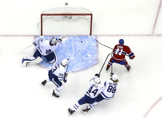 Montreal Canadiens at Toronto Maple Leafs - 1/13/21 NHL Picks and Prediction