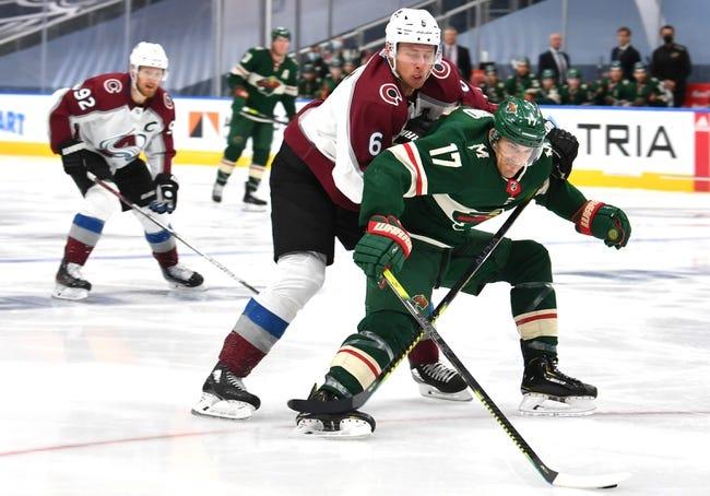 Minnesota Wild vs Colorado Avalanche NHL Picks, Odds, Predictions 1/30/21