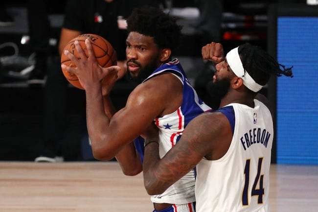 Philadelphia 76ers at Indiana Pacers - 1/31/21 NBA Picks and Prediction
