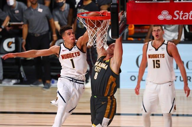 Oklahoma City Thunder at Denver Nuggets - 1/19/21 NBA Picks and Prediction