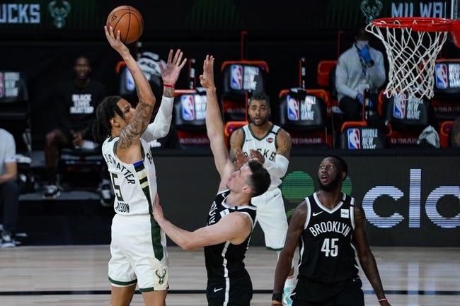 Milwaukee Bucks at Brooklyn Nets - 1/18/21 NBA Picks and Prediction