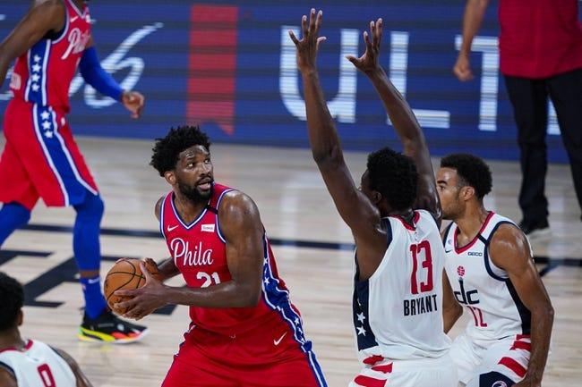 Washington Wizards at Philadelphia 76ers - 5/26/21 NBA Picks and Prediction