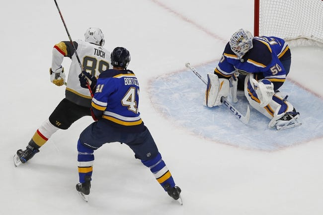 St. Louis Blues at Vegas Golden Knights - 1/26/21 NHL Picks and Prediction