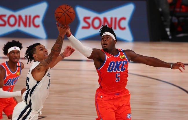Oklahoma City Thunder at Memphis Grizzlies - 2/17/21 NBA Picks and Prediction