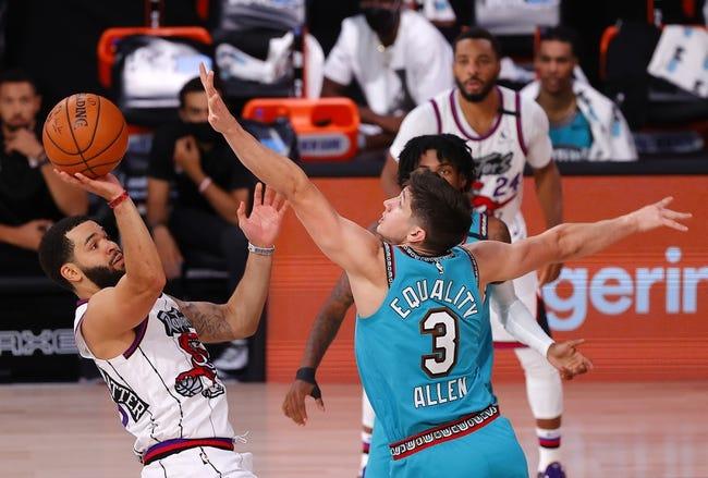 Toronto Raptors at Memphis Grizzlies - 2/8/21 NBA Picks and Prediction