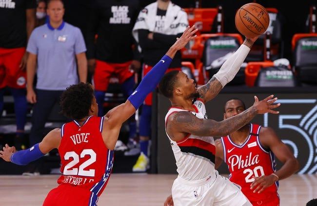 Portland Trail Blazers at Philadelphia 76ers - 2/4/21 NBA Picks and Prediction