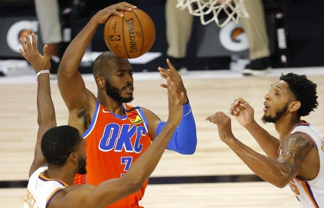 Oklahoma City Thunder at Phoenix Suns - 1/27/21 NBA Picks and Prediction