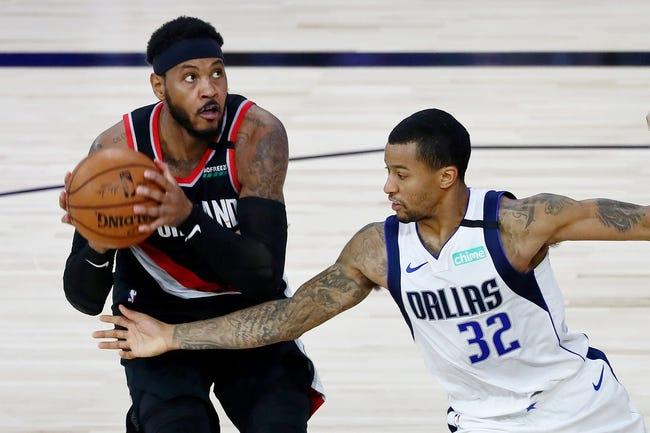 Portland Trail Blazers at Dallas Mavericks - 2/14/21 NBA Picks and Prediction