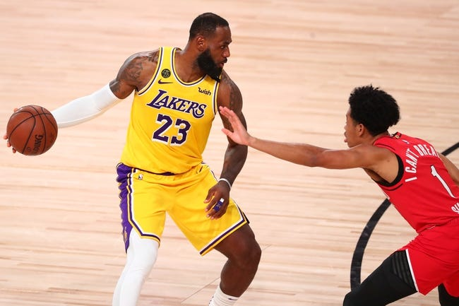 Los Angeles Lakers vs Portland Trail Blazers NBA Picks, Odds, Predictions 12/28/20