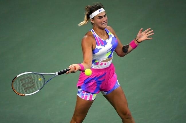 WTA Abu Dhabi : Aryna Sabalenka vs Veronika Kudermetova 1/13/2021 Tennis Prediction