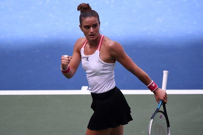 WTA Grampians Trophy: Maria Sakkari vs. Leylah Fernandez 2/4/2021 Tennis Prediction