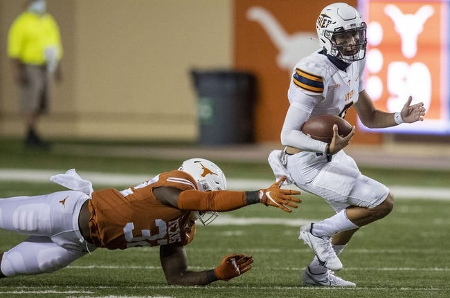 UTEP at New Mexico State: 8/28/21 College Football Picks and Prediction