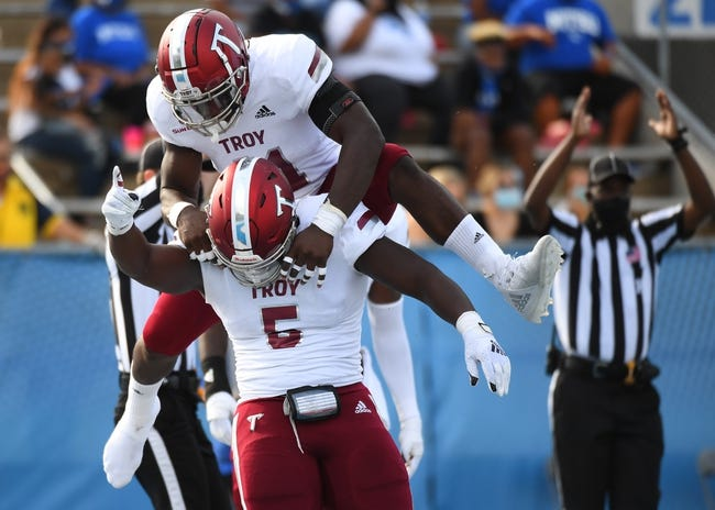 Troy at Southern Miss: 9/18/21 College Football Picks and Predictions