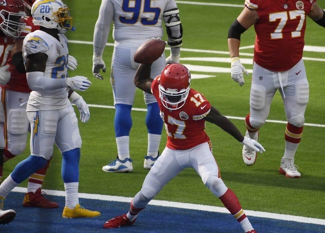 Week 17 NFL Picks: Kansas City Chiefs vs Los Angeles Chargers 1/3/21 NFL Picks, Odds, Predictions