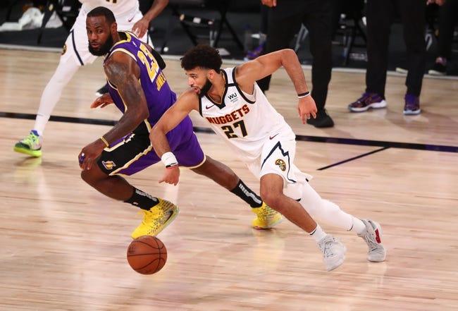 Denver Nuggets at Los Angeles Lakers - 2/4/21 NBA Picks and Prediction