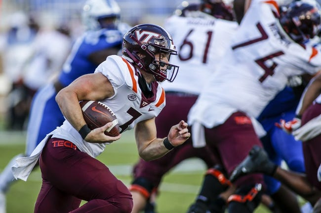 Middle Tennessee at Virginia Tech - 9/11/21 College Football Picks and Prediction
