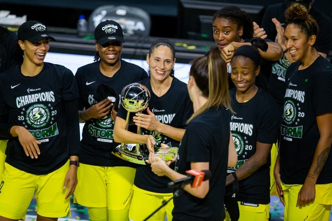 WNBA Picks and Predictions for 5/15/21 - Free WNBA Picks
