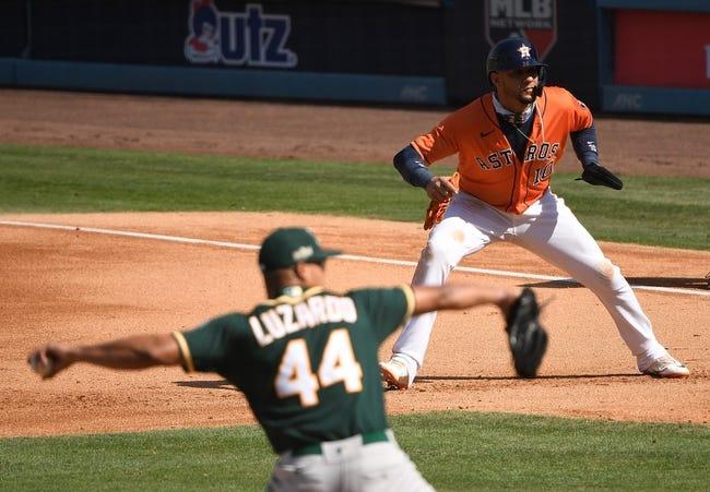Houston Astros at Oakland Athletics - 4/2/21 MLB Picks and Prediction