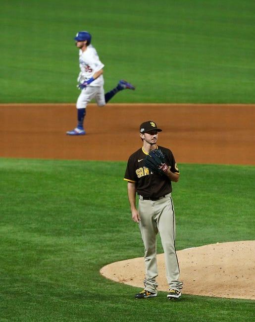 San Diego Padres at Los Angeles Dodgers - 4/24/21 MLB Picks and Prediction