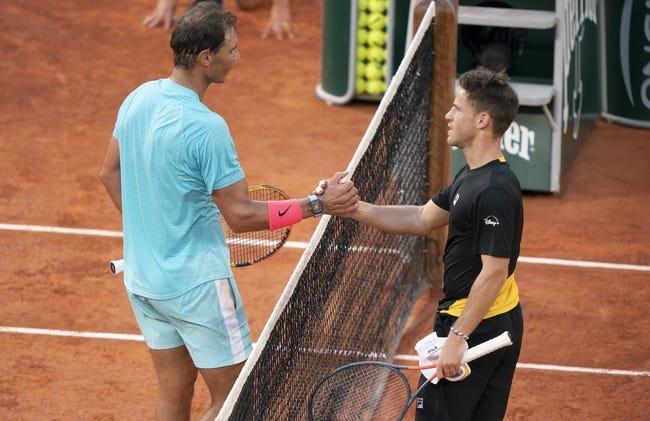 Diego Schwartzman vs Rafael Nadal French Open Tennis Picks and Predictions 6/9/21