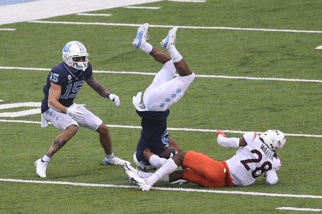 North Carolina at Virginia Tech 9/3/21 College Football Picks and Predictions
