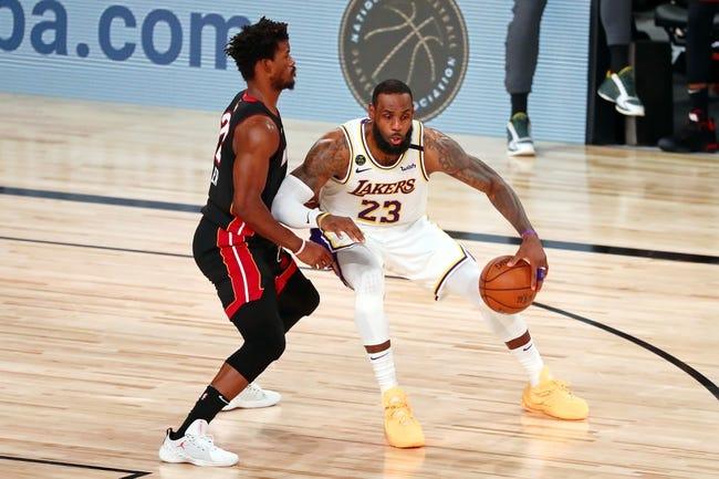 Los Angeles Lakers vs Miami Heat NBA Picks, Odds, Predictions 2/20/21