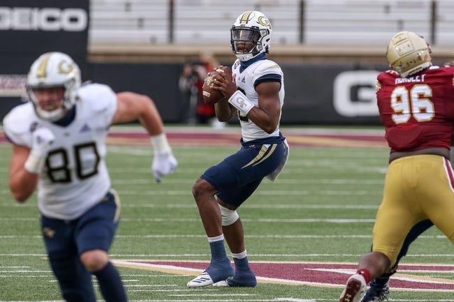NIU at Georgia Tech: 9/4/21 College Football Picks and Predictions