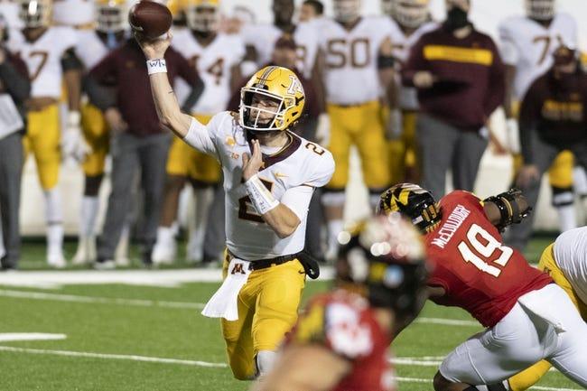Maryland at Minnesota: 10/23/21 College Football Picks and Predictions