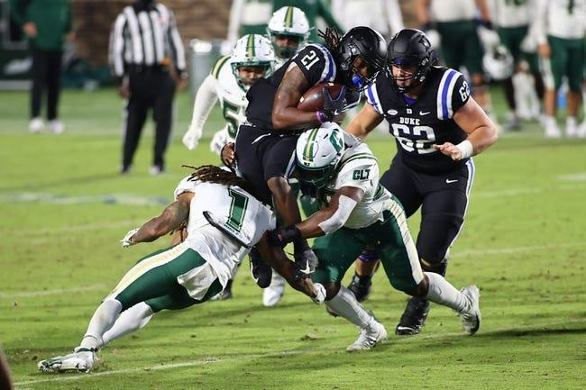 Duke at Charlotte - 9/3/21 College Football Picks and Prediction