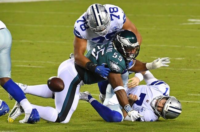 Week 16 NFL Picks: Dallas Cowboys vs Philadelphia Eagles 12/27/20 NFL Picks, Odds, Predictions