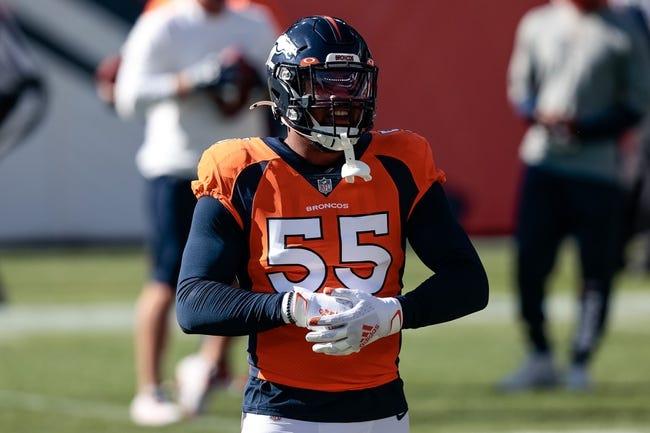 Denver Broncos at Jacksonville Jaguars - 9/19/21 NFL Picks and Prediction