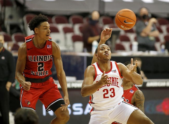 Bradley at Illinois State: 1/20/21 College Basketball Picks and Predictions