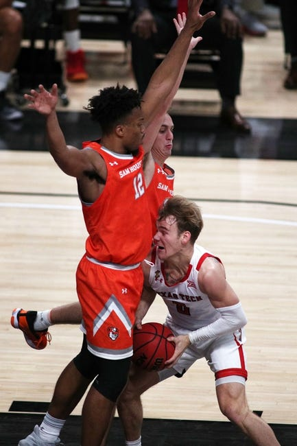Stephen F. Austin at Sam Houston State - 3/6/21 College Basketball Picks and Prediction