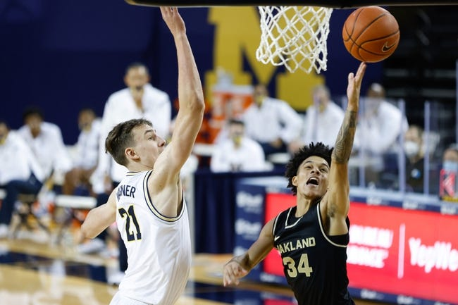 Oakland at Cleveland State: 3/9/21 College Basketball Picks and Prediction