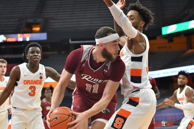 Rider Broncs at Quinnipiac: 2/21/21 College Basketball Picks and Predictions