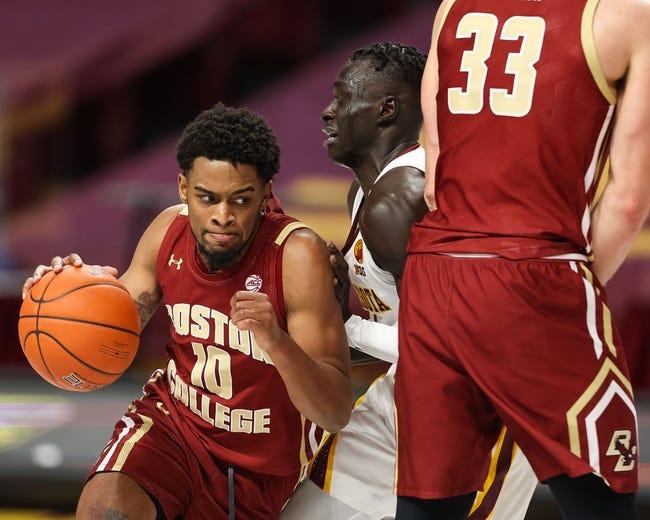 Boston College vs Maine College Basketball Picks, Odds, Predictions 12/22/20