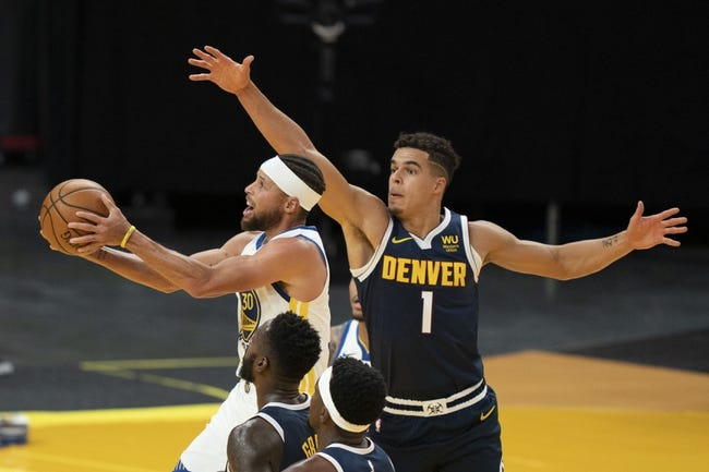 Golden State Warriors at Denver Nuggets - 1/14/21 NBA Picks and Prediction