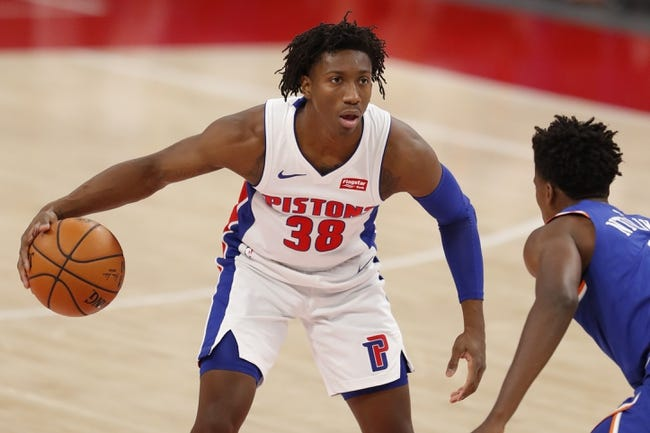 Detroit Pistons vs New York Knicks NBA Picks, Odds, Predictions 2/28/21