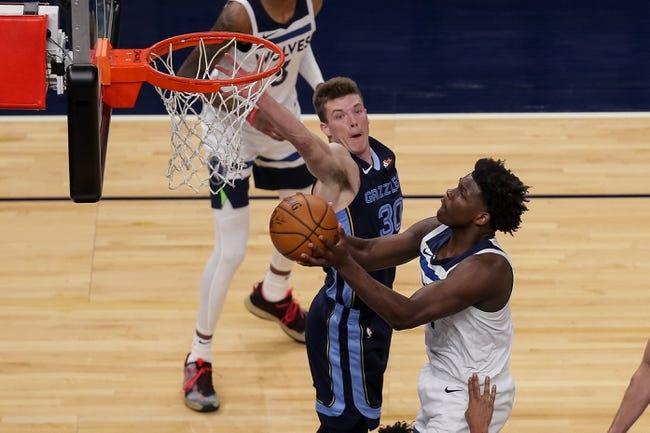 Memphis Grizzlies at Minnesota Timberwolves - 1/13/21 NBA Picks and Prediction