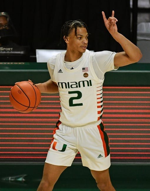 Miami at Boston College - 1/12/21 College Basketball Picks and Prediction