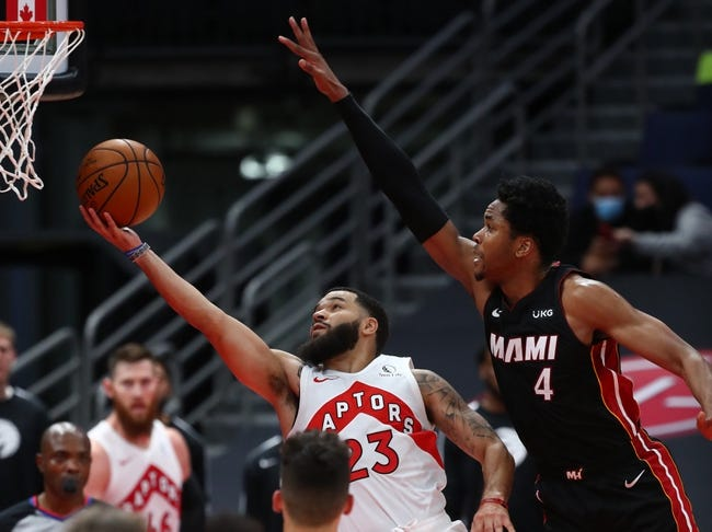 Toronto Raptors vs Miami Heat NBA Picks, Odds, Predictions 1/20/21