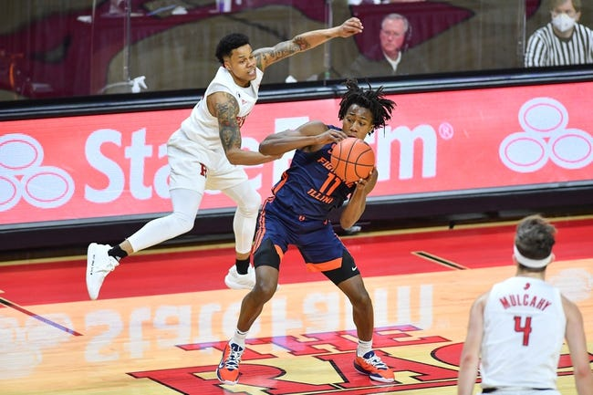 Rutgers at Illinois: 3/12/21 College Basketball Picks and Predictions