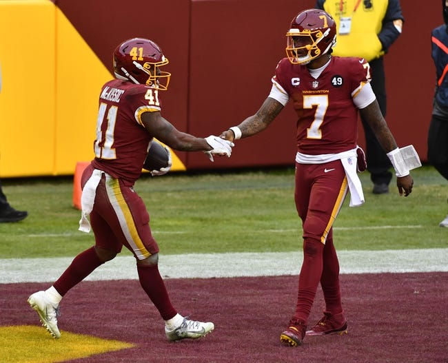 Week 16 NFL Picks: Washington Football Team vs Carolina Panthers 12/27/20 NFL Picks, Odds, Predictions