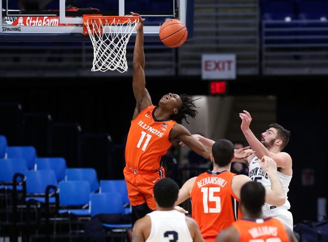 Penn State at Illinois: 1/19/21 College Basketball Picks and Prediction