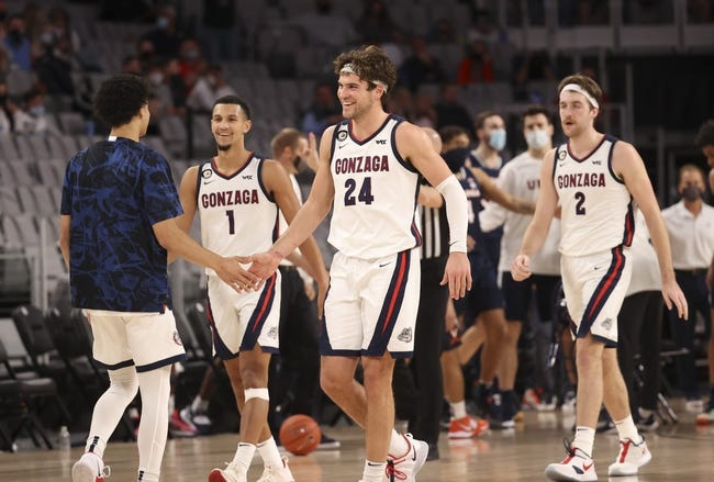 Gonzaga vs Northern Arizona College Basketball Picks, Odds, Predictions 12/28/20