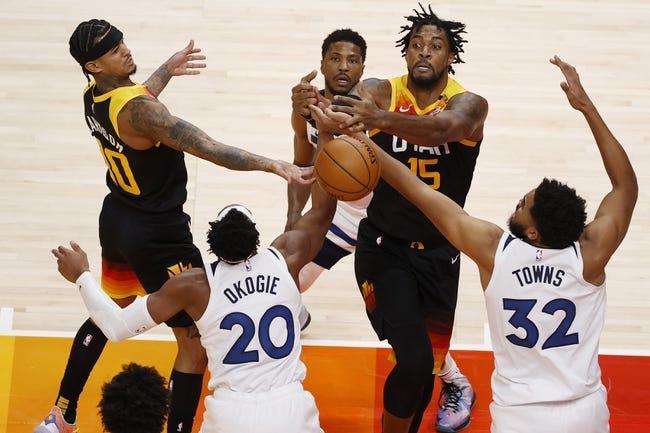 Minnesota Timberwolves at Utah Jazz - 4/24/21 NBA Picks and Prediction