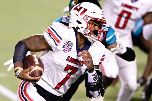 Liberty at Troy - 9/11/21 College Football Picks and Prediction